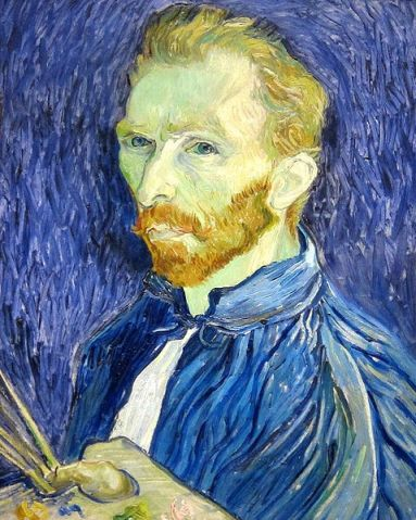 "Vincent Van Gogh ""Self Portrait"""