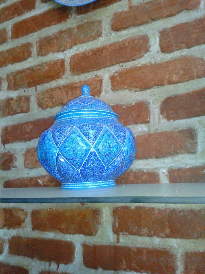 Moscheea albastra, expozitie de arta persana