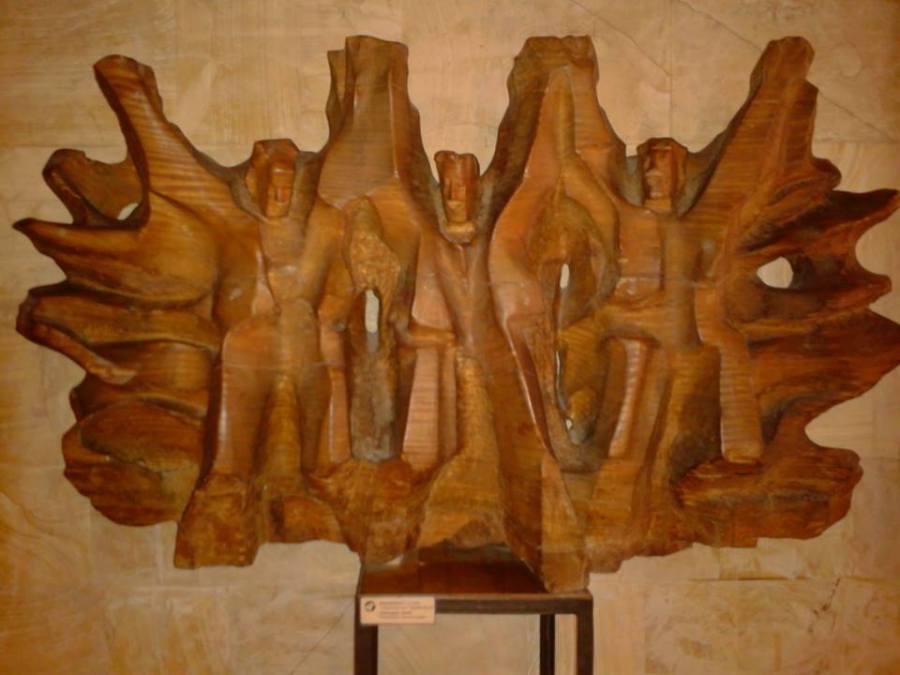 Erevan, Muzeul sculpturilor in lemn