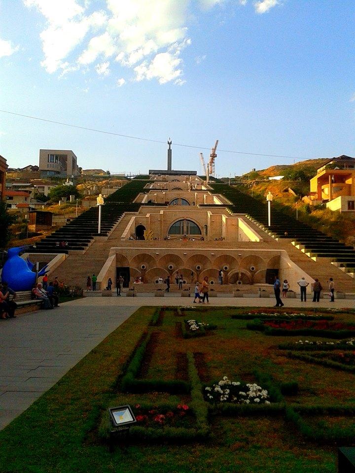 Erevan, complexul Cascade