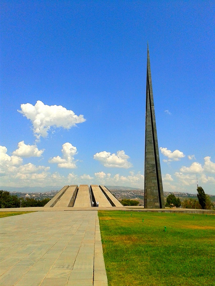 Erevan, monumentul genocidului impotriva armenilor