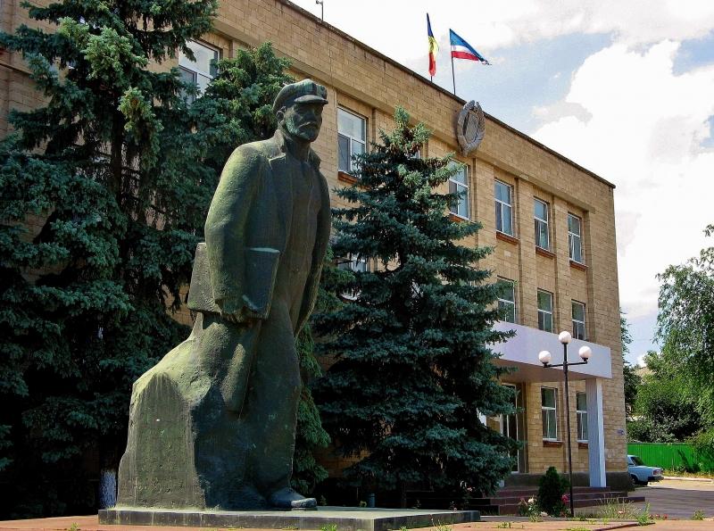 Lenin-in-Comrat-Gagauzia